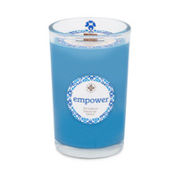 Seeking Balance® 8 oz Medium Spa Candle Lavandin & Patchouli Empower