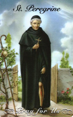 Saint Peregrine Laziosi (Pellegrino Latiosi) (c. 1260 – 1 May 1345) is an Italian saint of the Servite Order (Friar Order Servants of Mary). He is the patron saint for persons suffering from cancer, AIDS, or other illness.