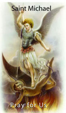 Saint Michael is an archangel, a spiritual warrior in the battle of good versus evil. He is considered a champion of justice, a healer of the sick, and the guardian of the Church.