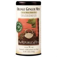 The Republic of Tea Orange Ginger Mint Herbal Tea