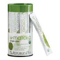 The Republic of Tea Organic U•Matcha® Single Sips®