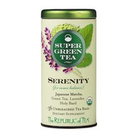The Republic of Tea Organic Serenity SuperGreen Tea Bags