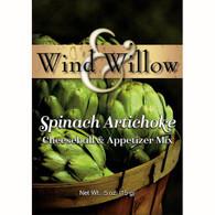 Wind & Willow Spinach-Artichoke Cheeseball & Appetizer Mix