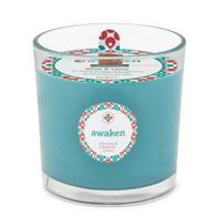 Seeking Balance® 12 oz Spa Candle Basil & Lime Awaken
