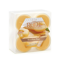 Bourbon Pear Beeswax Blend Tealights