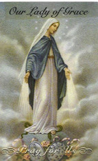 Our Lady of Grace Prayer 7 Day 7C Meditation Candle