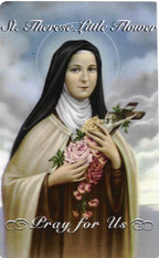 St. Therese Prayer 7 Day 7C Meditation Candle