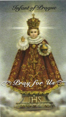 Infant of Prague Prayer 7 Day 7C Meditation Candle