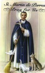 St. Martin de Porres Prayer 7 Day 7C Meditation Candle