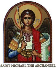St. Michael the Archangel Prayer 7 Day 7C Meditation Candle