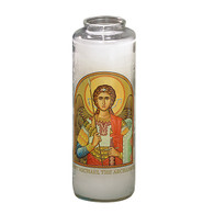 St. Michael the Archangel Prayer 7 Day 7C Meditation Candle