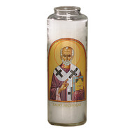 St. Nicholas Prayer 7 Day 7C Meditation Candle
