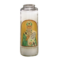 St. Patrick Prayer 7 Day 7C Meditation Candle