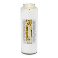 Our Lady of Mt. Carmel Prayer 7 Day Meditation Candle
