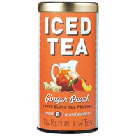 The Republic of Tea Ginger Peach Iced Tea