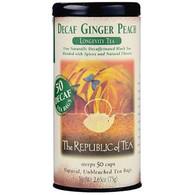 The Republic of Tea Ginger Peach Black Decaf Tea