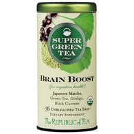 The Republic of Tea Organic Brain Boost SuperGreen Tea