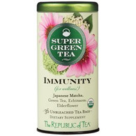 The Republic of Tea Organic Immunity SuperGreen Tea
