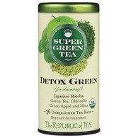 The Republic of Tea Organic Detox Green SuperGreen Tea