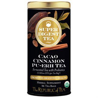 The Republic of Tea Organic Cacao Cinnamon Pu-erh SuperDigest Tea®