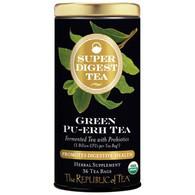 The Republic of Tea Organic Green Pu-erh SuperDigest Tea®