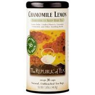 The Republic of Tea Chamomile Lemon Herbal Tea