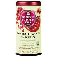 The Republic of Tea Organic Pomegranate Green Superfruit Tea