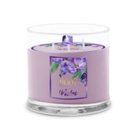 Violet La Fleur 3 Wick Candle
