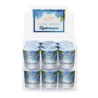 Hydrangea La Fleur 20 Hour Beeswax Blend Box of 18 Votives