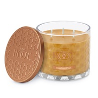 Bourbon Pear 3 Wick Honeycomb Candle