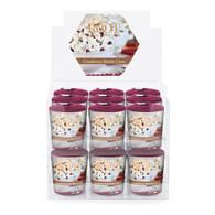Cranberry Kettle Corn 20 Hour Beeswax Blend Box of 18 Votives
