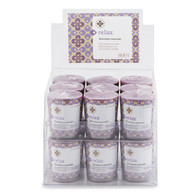 Seeking Balance® Geranium Lavender Relax Box of 18 Votives