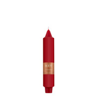 """7"""" Smooth Collenette Red Single Candle"""