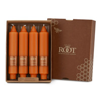 """7"""" Smooth Collenette Pumpkin Box of 4 Candles"""