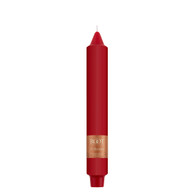 """9"""" Smooth Collenette Red Single Candle"""