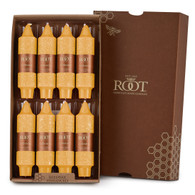 """5"""" Timberline™ Collenette Butterscotch Box of 8 Candles"""