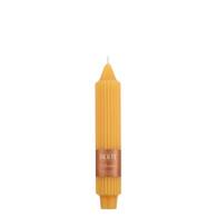 "7"" Grecian Collenette Butterscotch Single Candle"