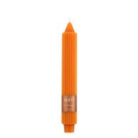 "9"" Grecian Collenette Pumpkin Single Candle"