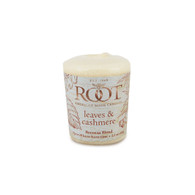 Leaves & Cashmere 20 Hour Beeswax Blend Votive