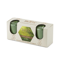 Winter Balsam 20 Hour Beeswax Blend Votive 3 Pack