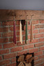 Simply hang our Double Hung Dipped Tapers from pegs for a traditional décor element.