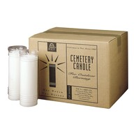 Cemetery Candles Case of 12