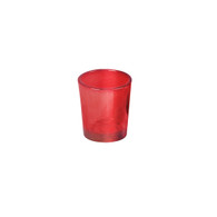 Votive Glass Red