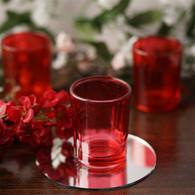 Votive Glass Red