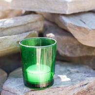 Votive Glass Green