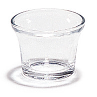 Clear Oyster Votive Glass