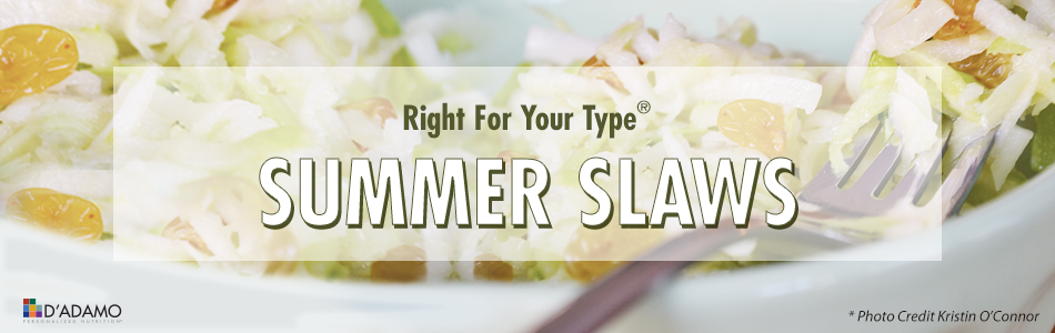 Summer Slaw Recipe - Blood Type Diet