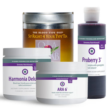 Healthy Blends Pack B - A collection of healthy drink mix options to support overall health from many different angles