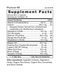 Phytocal AB - Supplement Facts
