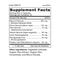 Live Cell O - Sprouted Greens Supplement Facts